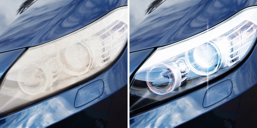 Failed on beam pattern?  We can now polish headlights to restore to original brightness, for as little as £26.25