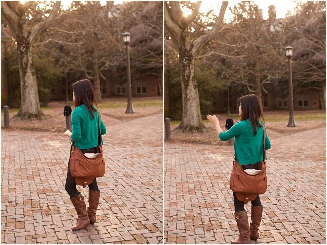 Western Style-rhinestone Stud Fleur-de-lis Shoulder Bag Gc703