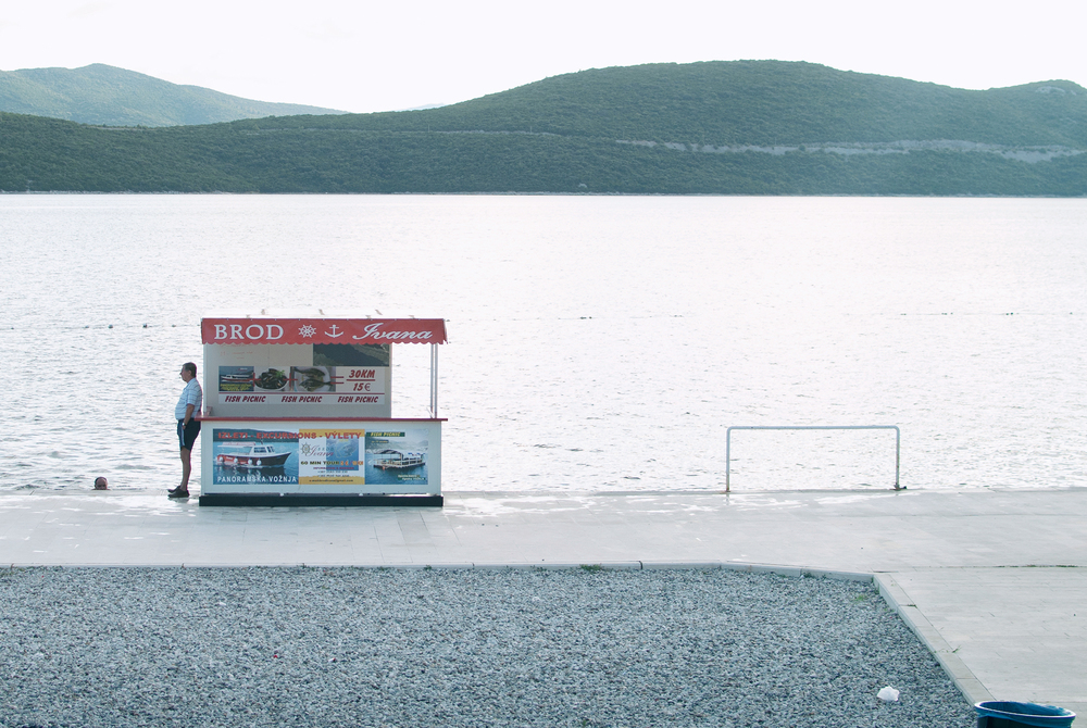 Captain and Swimmer - Neum, 2014