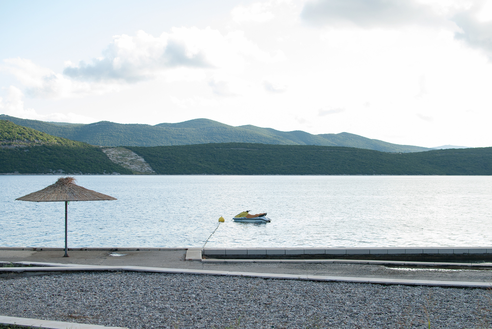 Sleeping Jet Ski - Neum, 2014
