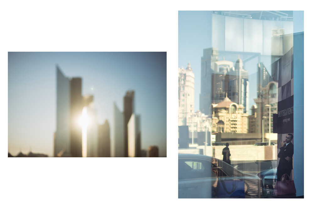 Dubai through a dirty window - Dubai, 2016 // Dubai Mall - Dubai, 2016