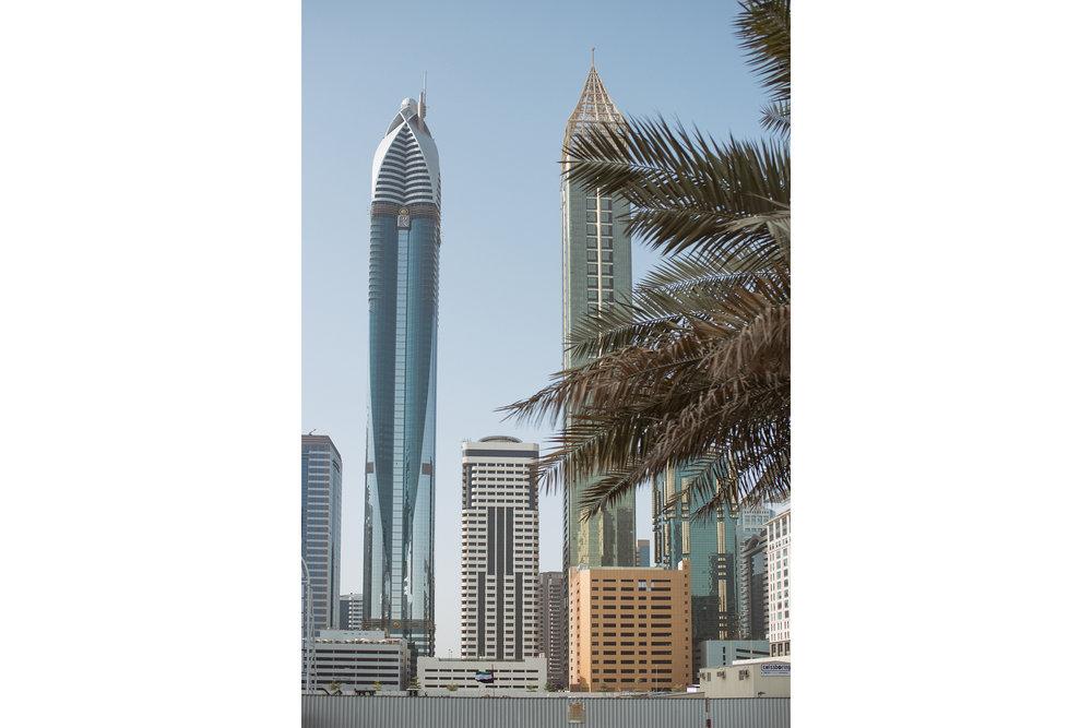 A Skyline portrait - Dubai, 2016