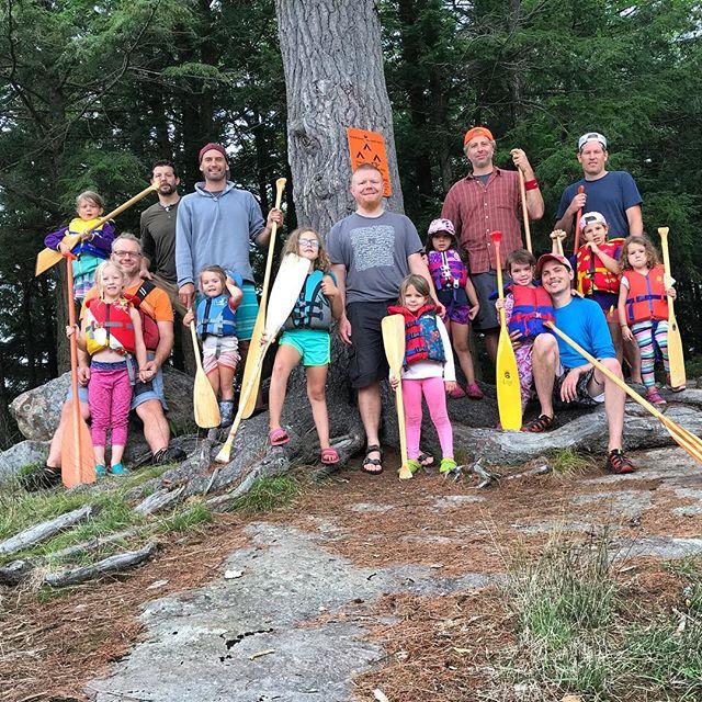 third annual Daddy-Daughter Canoe Trip ✔️