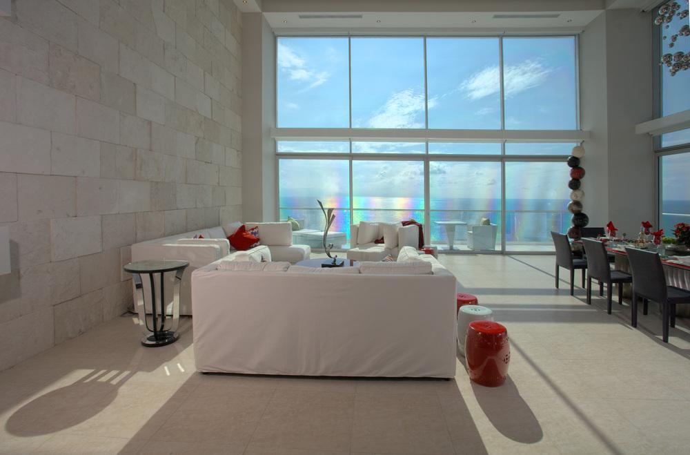 Puerto Vallarta rental villa atrium view