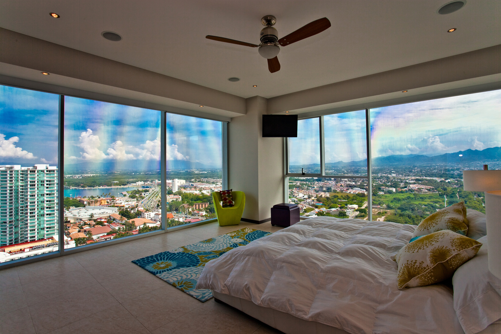 Puerto Vallarta penthouse rental marina bedroom