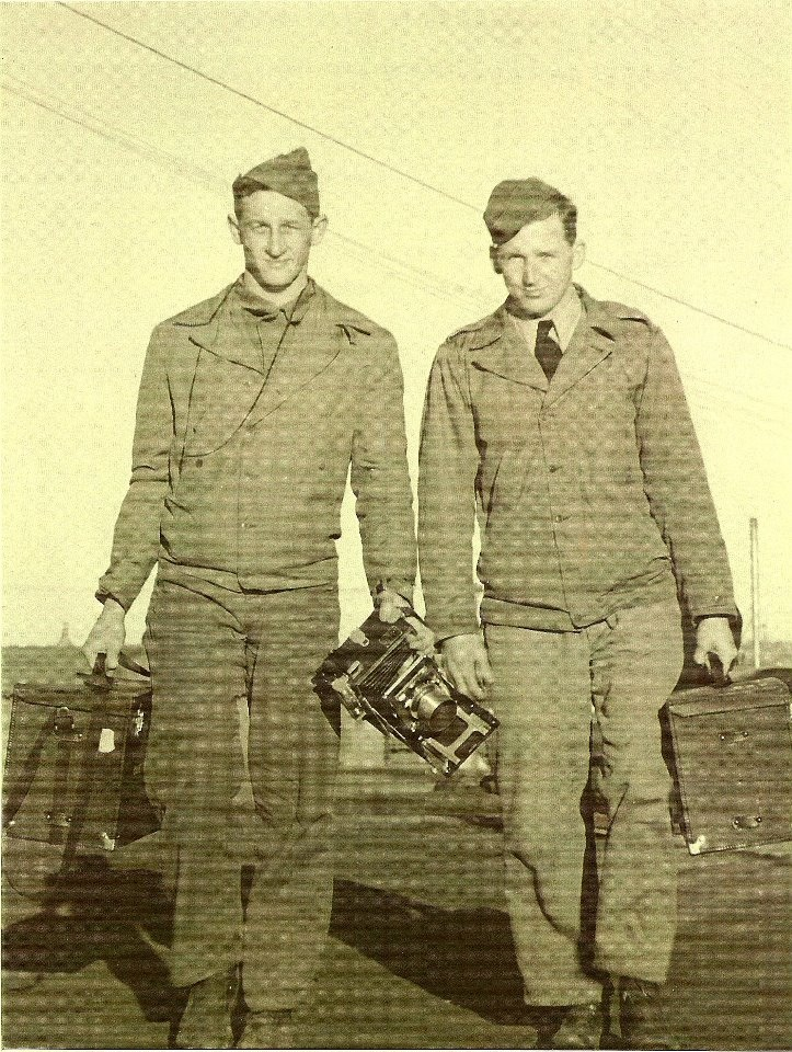Granddaddy on the left with his camera