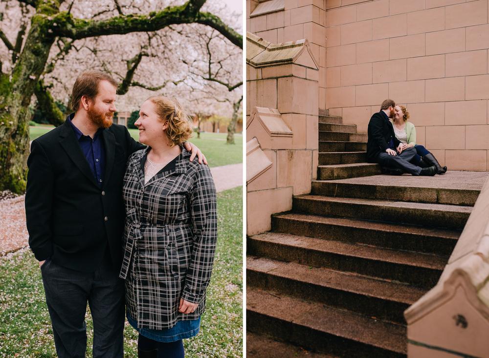 Alex Abby Engagement University of Washington Quad-17.jpg