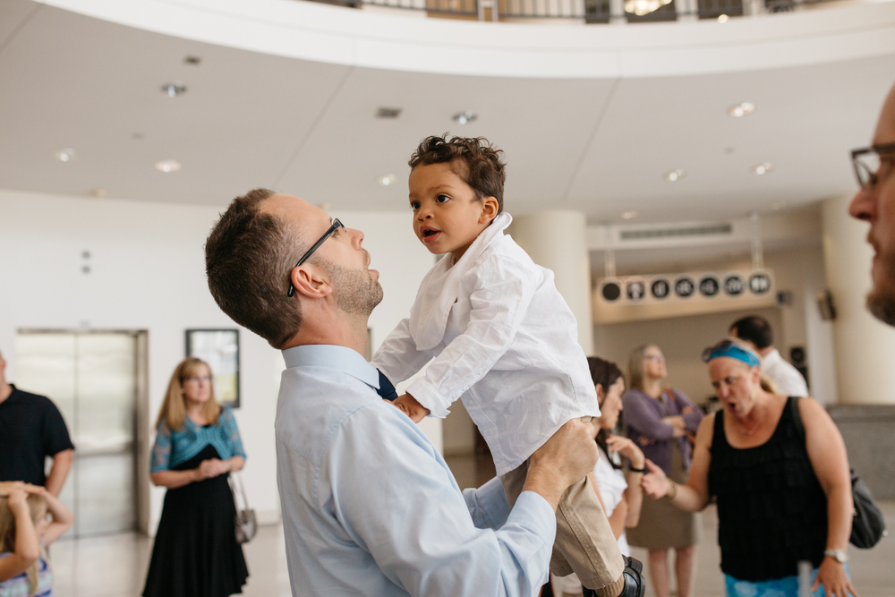 Red Thread Session | Seattle Courthouse Adoption | ARBR Pictures