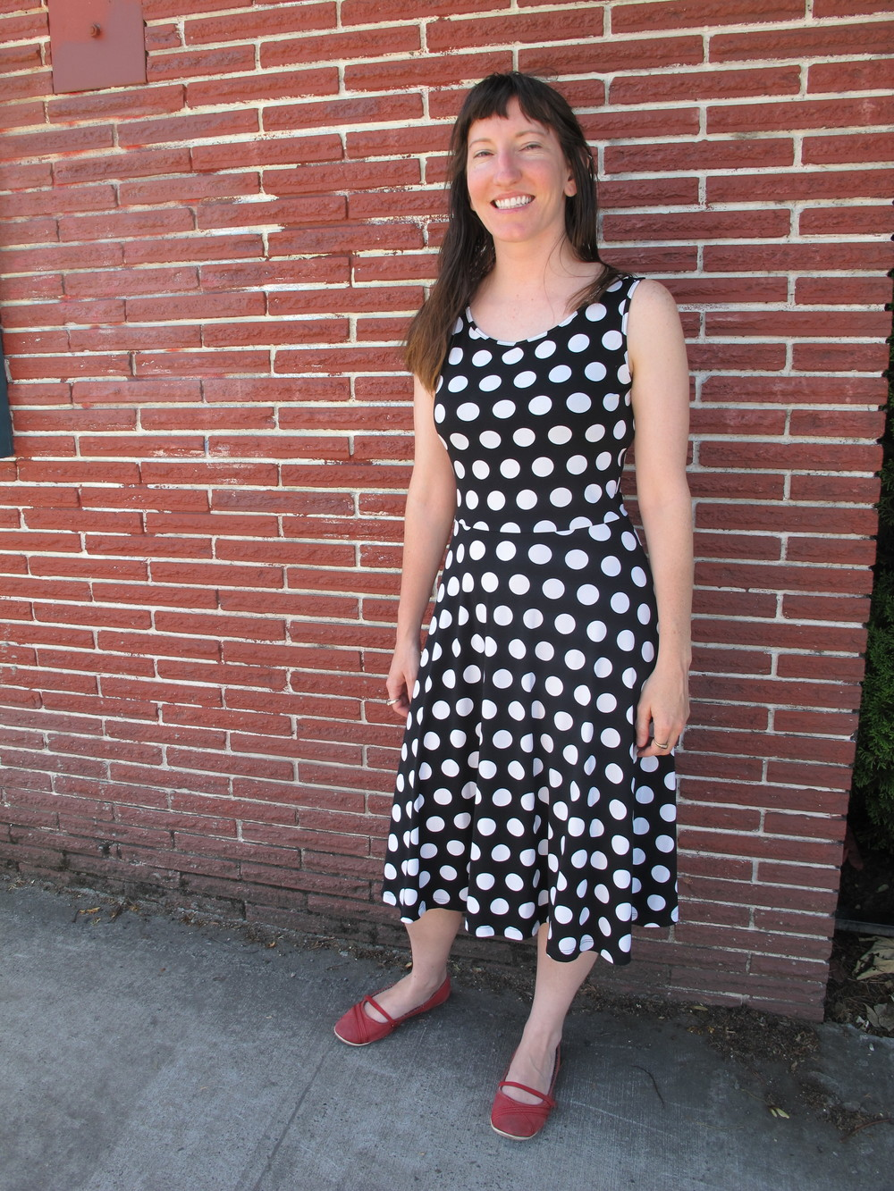 """I don't dress up much. This is actually one of the cutest things I own; I'm quite utilitarian."" -Melanie, local"