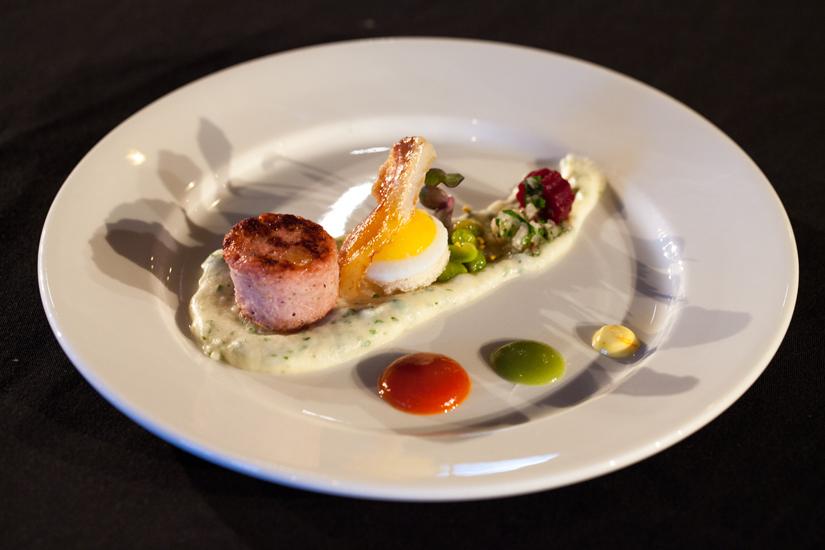 Martin Ruiz Salvador's winnding dish. Photo Credit: Kelly Neil Photography
