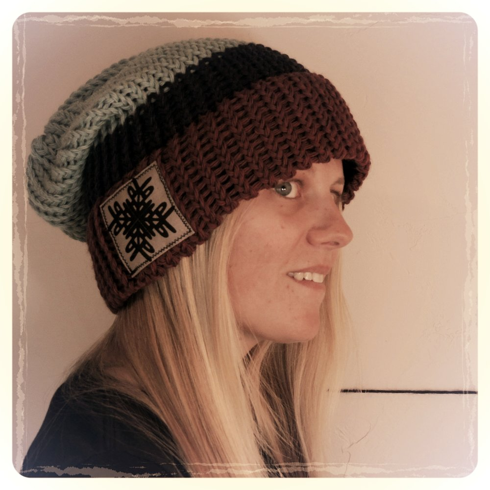 One of my first beanies, 2014