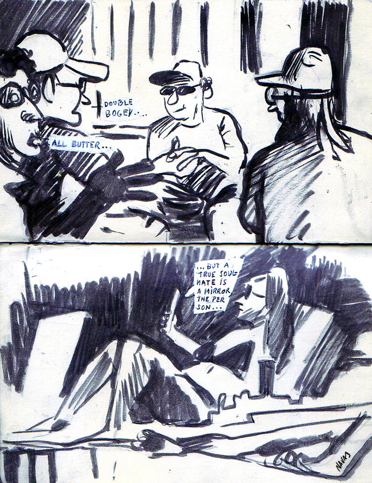 Ink on Moleskine (2012)