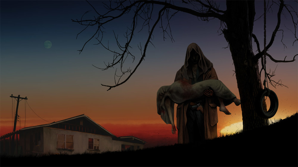 Concept Art for Horror Film