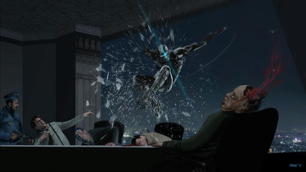 Concept Art for Sci-fi Film
