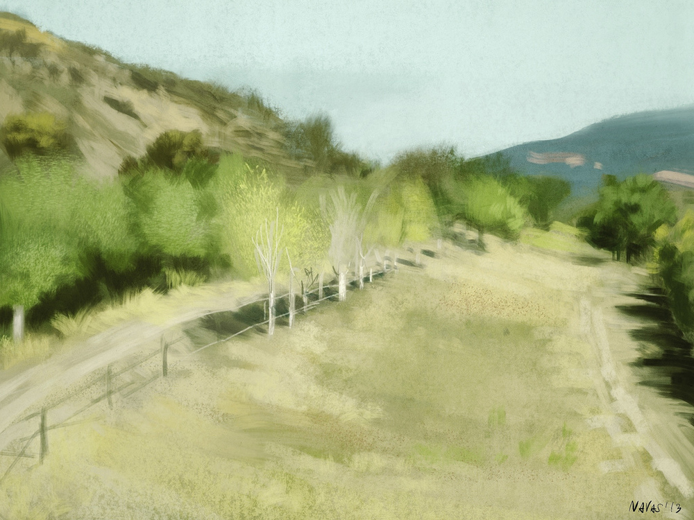 Santa Ynez - Procreate - David Navas (2013)