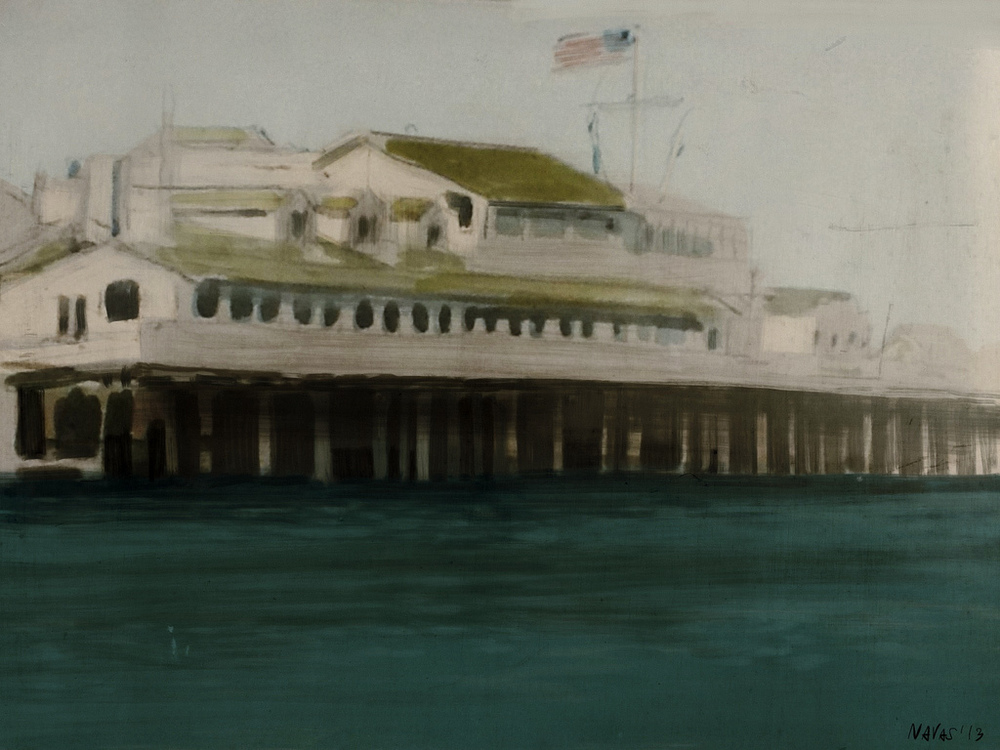 Santa Barbara pier- Procreate - David Navas (2013)