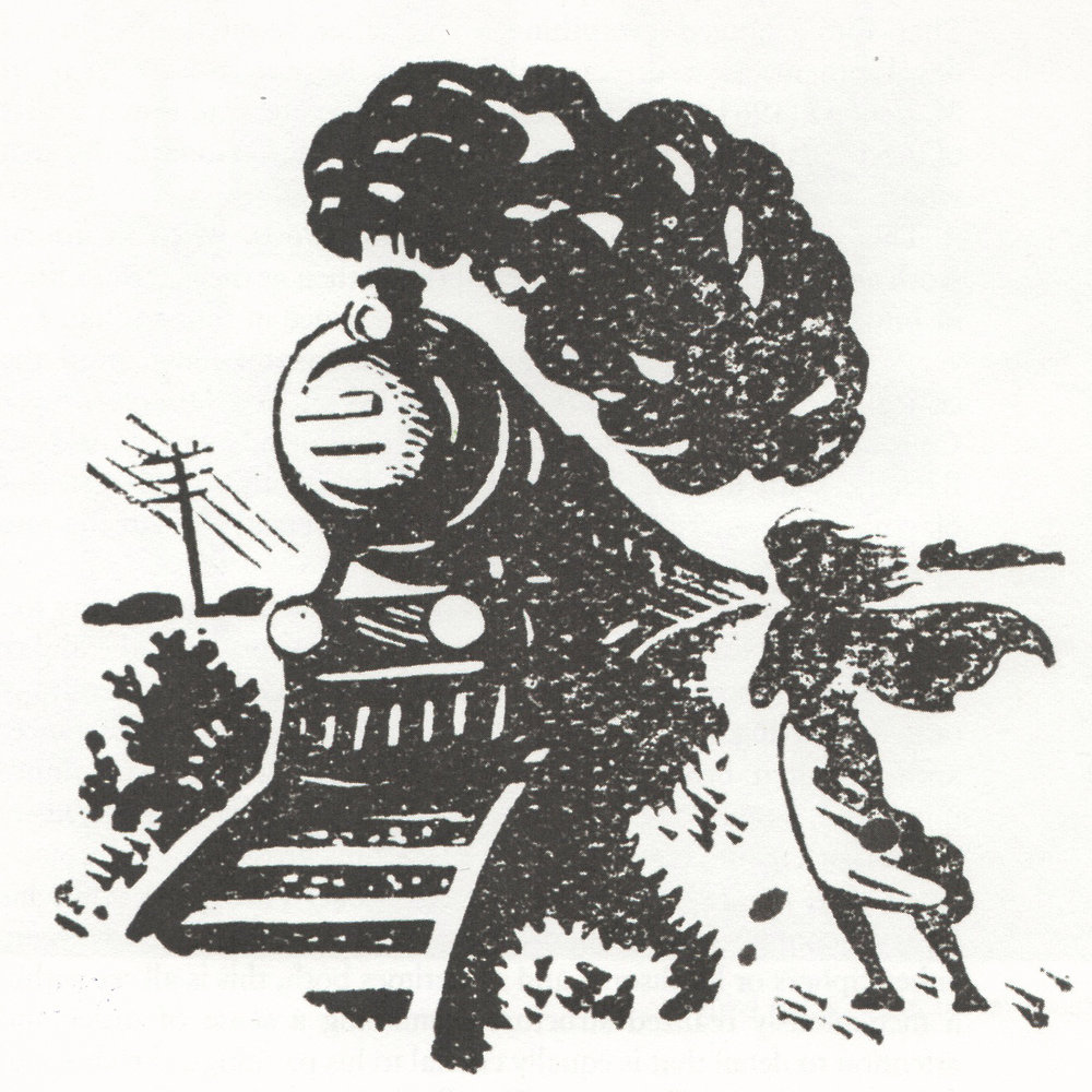 Ray's woodcut illustration for a 1944 edition of 'Pather Panchali' by Bibhuti Bhusan Bandhopadhyay, the novel on which the film was based