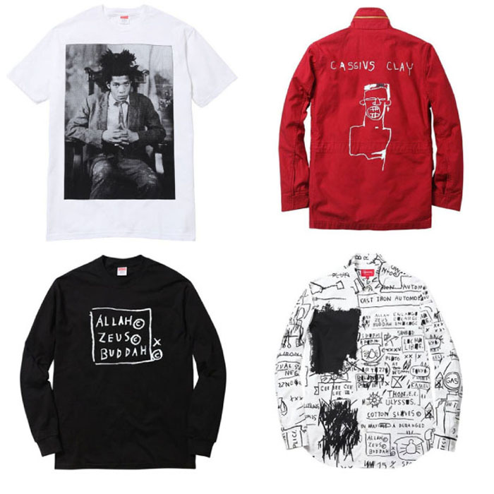Basquiat for Supreme, Fall 2013