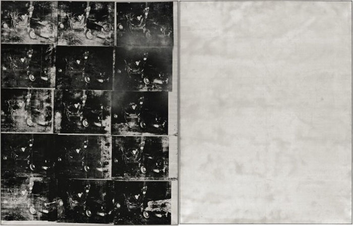 Andy Warhol, Silver Car Crash, 1963