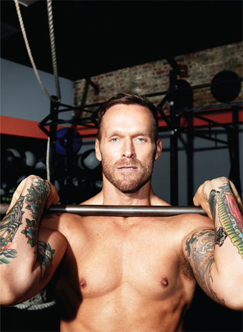 The Biggest Loser's trainer, Bob Harper