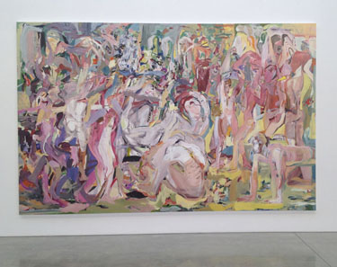 Cecily Brown at Gagosian, Beverly Hills