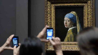 The Girl with the Pearl Earring at The Frick