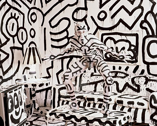 Keith Haring by Annie Leibovitz, 1987