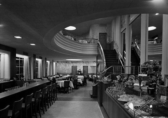 Schrafft's interior circa 1938