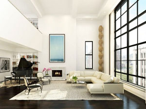 61 Fifth's double-height penthouse condo sold for $25 million+
