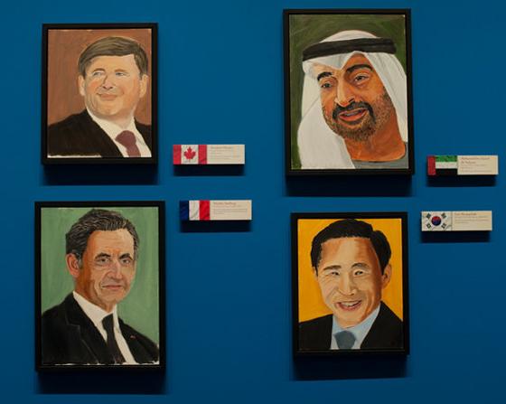 George W Bush Ex President Outsider Artist Trey Speegle