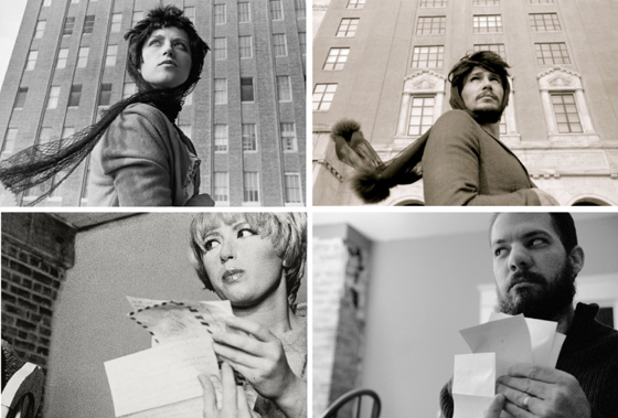 Top; Cindy Sherman, James Franco; Cindy Sherman, unknown hommage