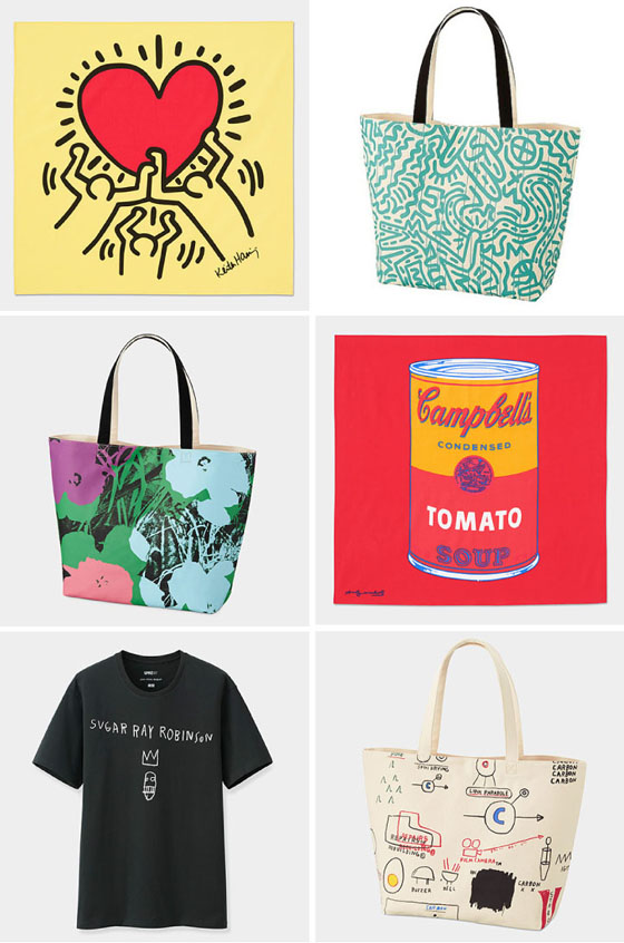 Haring, Warhol & Basquiat at Uniqlo
