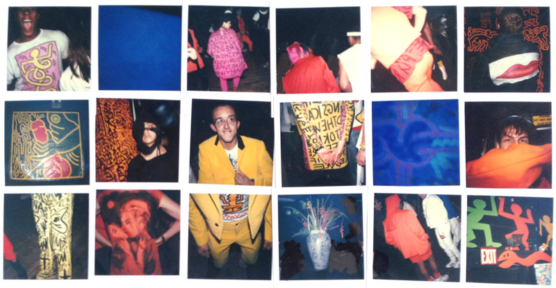 Trey Speegle, Party of Life, 1984, Polaroid collage