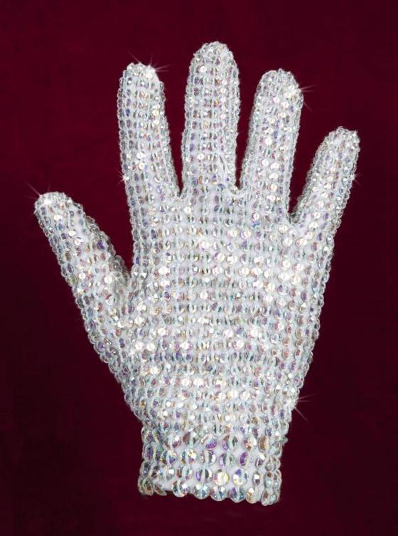 Crystal glove, est. $30-50,000