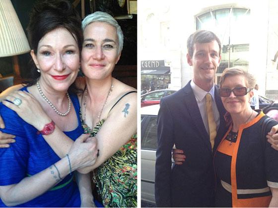 Kate O'Toole and Ciara Martin; Lorcan O'Toole & Pat O'Toole, Kate's half-brother and sister