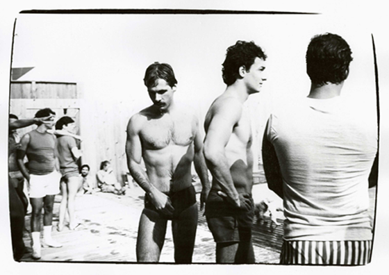 Fire Island Party, Aug 02 1982, unique gelatin silver print, 8 x 10 in., set, $2000-3000