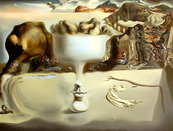 """Take me, I am the drug; take me, I am hallucinogenic."" –Salvador Dali"