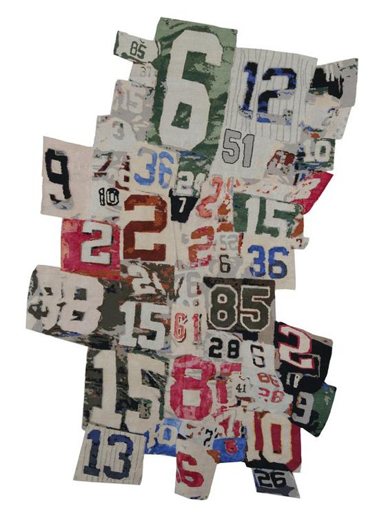 RICHARD PRINCE, 1-234-567-8910 rug, $20,700