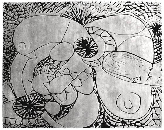 JACK PIERSON, Automatic Drawing rug, $15,880
