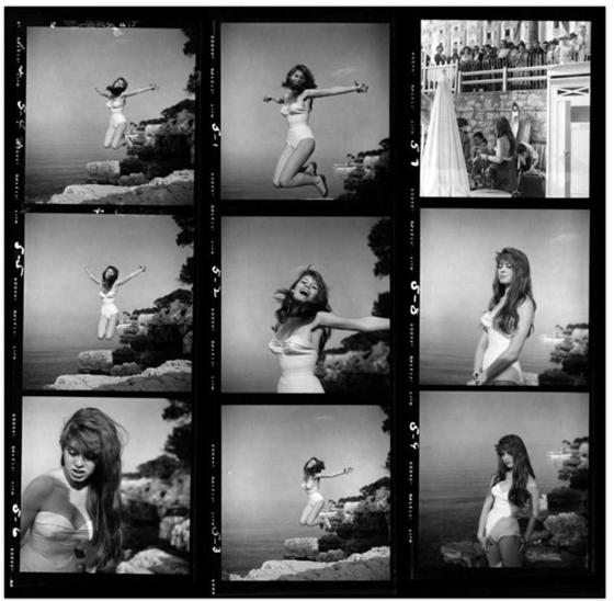 Brigitte Bardot by Philippe Halsman