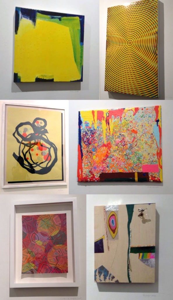 L to R; Sandi Sloane, Taro Suzuki, Judy Rifka, Peter Reginato, Patricia Fabrikant, Blake Lake (photos, Judy Rifka)