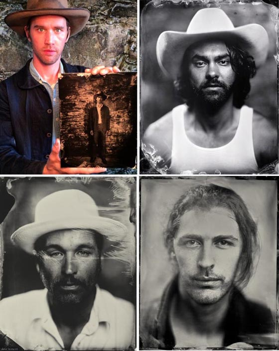 L to R; Willie with himself, Shakey Graves, Joe Fletcher, Andrew from Hozier