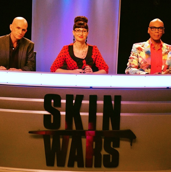 Skin Wars with judge RuPaul debuts August 8 @RuPaul