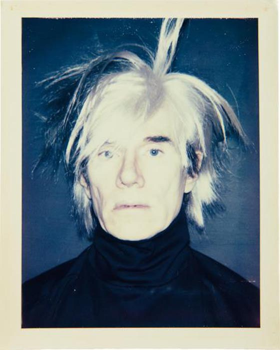 ANDY WARHOL, Self-Portrait (in Fright Wig), 1986