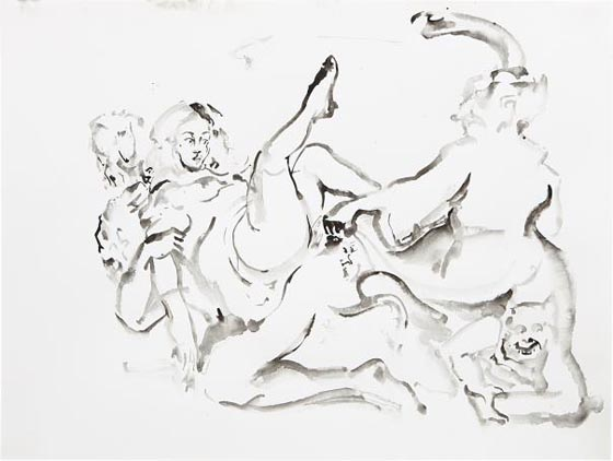 CECILY BROWN, Untitled, 1999