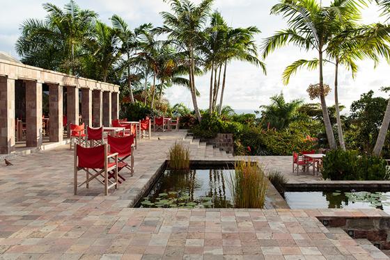 The Golden Rock Inn in Nevis