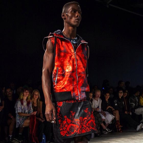 Eagles collaborated with Skingraft for their Spring 2015 collection