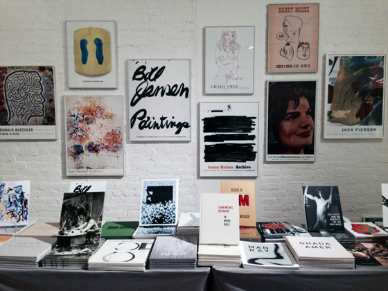 Cheim & Read booth at MoMA PS1