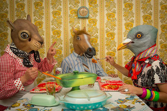 "FRIENDS HAVE FLAWS: Agnes' oldest friend Bertie likes to drop in unannounced and it's usually around meal time. Bertie always has the latest gossip and follows up each story with, ""but don't tell anyone."" Horace mostly plays bystander when the ladies are in their element though he does notice that no matter how much food is on the table, Bertie's fork always wanders over to his plate. He's tried to address this with Agnes but she just smiles sweetly, ""Oh Horace, friends have flaws…eat faster next time."""