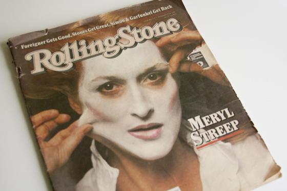Vintage masked Meryl